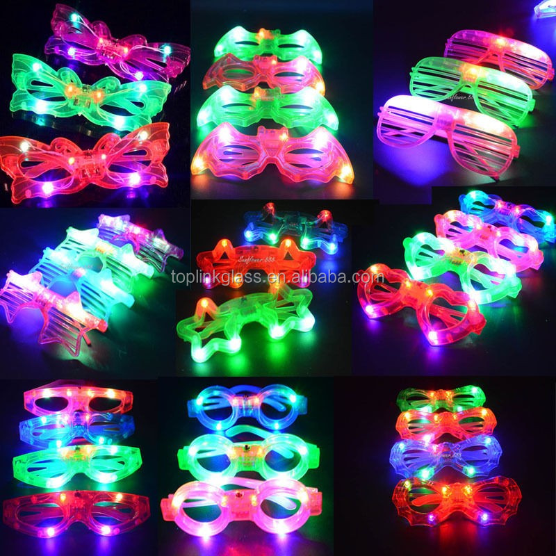 Superior Be A *star* Wearing Assorted Color Flashing LED Star Shaped Glasses! These  Brilliant Blinky Star Glasses Are A Hit At Parties, On The Town Or As Gifts. Amazing Pictures