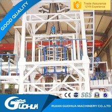 eco-friendly high quality double color plastic film blowing machine