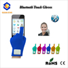 Top quality Knitting bluetooth touch screen gloves with Acrylic+Polyster+Conductive Material+Electronic parts
