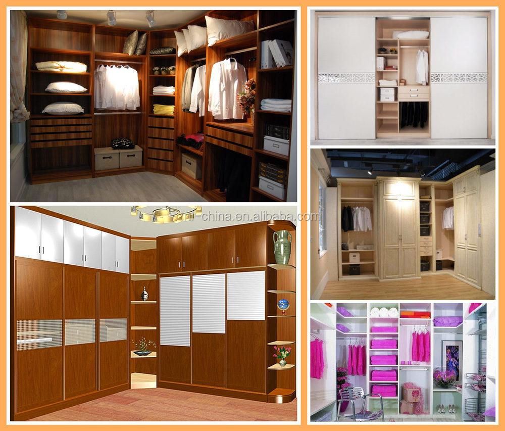 Custom Made Bedroom Sliding Wardrobe Cabinet 3 Door Wardrobe With