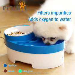 Special design pump with LED nightlight auto pet water fountain