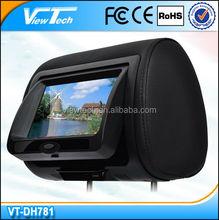 """Hot sale!!!!!!! 7"""" headrest Digital Screen car dvd player"""