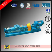 Hebei Life single screw pump G Sludge oil pump with no pulsation and low noise
