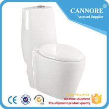 L-9032 One Piece Ceramic P Trap Toilet Wc