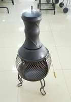 38CM Garden/outdoor Chimenea and ire Pit and log burner