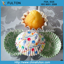 FDA&SGS certified printing paper cups cake cases