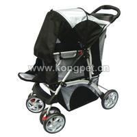 Luxury wheels pet dog stroller/pet trolley/pet travel strolley PS006