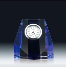 crystal sporting trophy crystal clockl/clock award