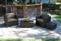All Weather rattan wicker restaurant outdoor furniture