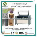 sm1290 60w 80w 100w co2 laser alimentação e tubo do laser de artesanato em madeira do laser máquina de corte