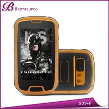 4.3inch waterproof cell phone, walkie talkied phone, rugged android phone