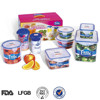 Shantou plastic factory small gift boxes for sale food storage container set