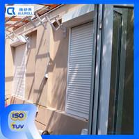 Shutter type vertical patter exterior sliding window roller shutter
