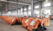 China Rubber Wheel Performance Harvesters Rice