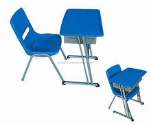2014 new design high quality spraying panel student desk and chair CT-331