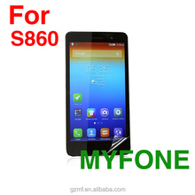 Tempered glass screen protector for lenovo s860