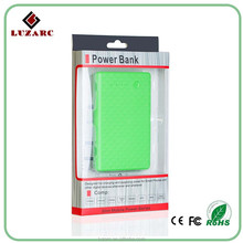 Factory Price Li-polymer Battery Slim Power Bank 5000 mAh Mobile Charger