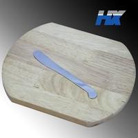 Stainless steel cheese scraper / cheese spatula / butter scraper