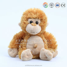 Gold and red Chinese new year gifts monkey