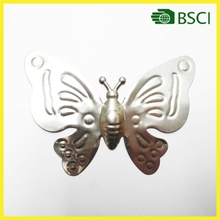 YS15B030 butterfly wrought iron tree wall decoration parts for plant decoration