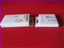 Supply printing paper usb data cable folding packaging