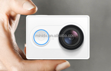 Ambarella A7LS Processor 16MP CMOS 155 Degree Wide Angle XIAOMI Yi WiFi Action Camera 60FPS@1080P 120FPS@720P With Time Lapse