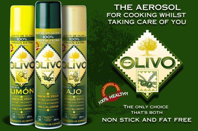Espanhol de oliva Extra virgem de aerossóis de óleo