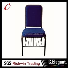 Cheap modern blue metal church chair for sale