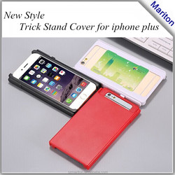China supplier PC trick cover for iPhone 6+ case, Cheaper Price for iphone Plus case with stand