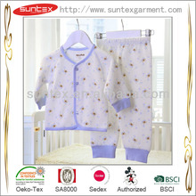 China Manufacturer with OEKO and SA8000 organic cotton baby clothing