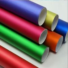 popular wrap vinyl film for car changing color