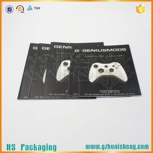Reciclar personalizado Handmade brochura novo design