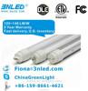 DLC UL cUL ETL cETL certified daylight 4ft T8 led fluorescent tube retrofit 18w led light tubes replacement