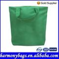 Color verde reciclado compras de algodón 100% bolsa