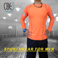2015 HOT SALE men's sportswear colorful high quality fitness wear for men