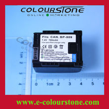 Brand New Rechargeable battery for camera battery BP-809