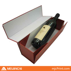 CHINA shenzhen printing and packaging factory various design liquor bottle gift box