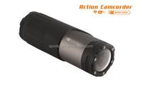 1920*1080P bullet motorcycle helmet camera support 10m waterproof wifi camera