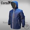 Hot selling customized logo sport polyester hooded men winter jacket