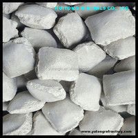 Cinder ball made in china/Caustic Calcined Magnesia Ball/Magnesia briquettes