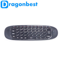 Original 2.4GHz C120 Air Mouse T10 Rechargeable Wireless GYRO Air Fly Mouse Keyboard for Win dows, MacOS, Android, Linux OS