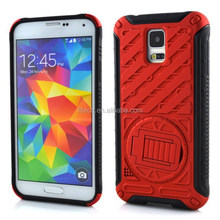 360 rotating stand mobile phone case for samsung s5