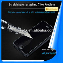 Mobile Phone Tempered Glass Screen Protector for iphone 5s