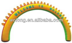 Inflatable finish arch, inflatable advertising arch