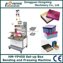 HM-YP450 Set-up Box Flap Bending and Bubble Pressing Machine