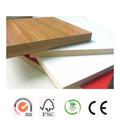 Admy bajo precio de fábrica del laminado 17 mm impermeable tablero mdf / mdf / mdf venta al por mayor