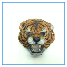Factory wholesale animal series masks good PU material full face tiger design carnival party Halloween masks