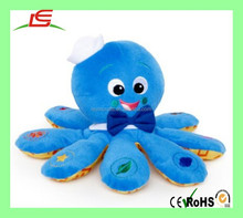 Cute baby kids toy plush pillow cushion fashion stuffed plush octopus toy