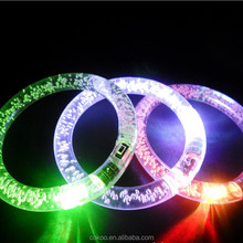 Hot sale glowing flashing bracelet LED lights Flash Bracelet Wrist Ring 10pcs/lot