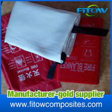 high temperature fire resistant insulation fiberglass fiber blanket